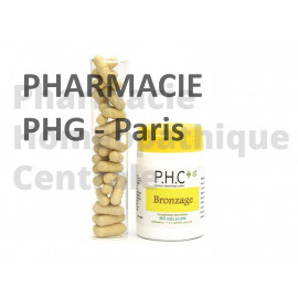 La formule Bronzage PHG contient des antioxydants et du bêta-carotène.