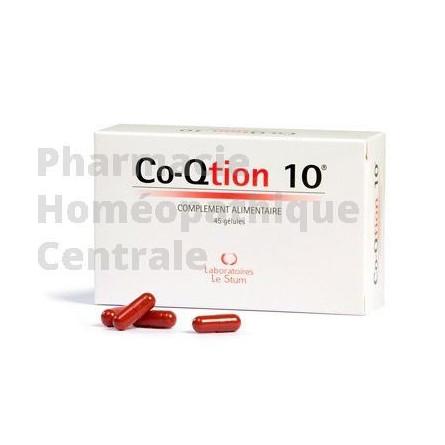 coenzyme Q10 - co-qtion - laboratoire le stum