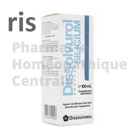 Dissolvurol® Silicium  pour conserver une peau souple et jeune