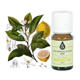 L'huile essentielle de citron jaune  a un effet stimulant sur le système nerveux autonome.