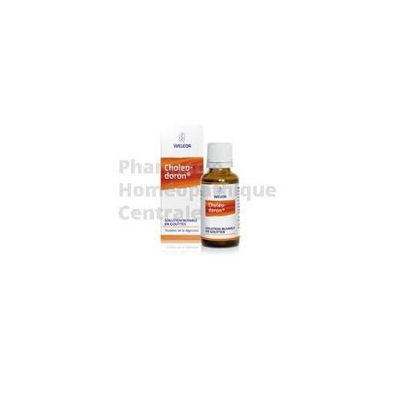 CHOLEODORON utilisé comme cholérétique et cholagogue dans les troubles dyspeptiques