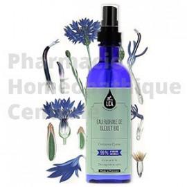 Eau florale de bleuet bio décongestionne et calme les yeux et paumières. Laboratoire LCA