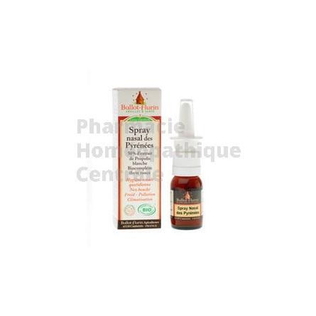 Spray nasal des Pyrénées à la Propolis Blanche - 15ml - Ballot-Flurin