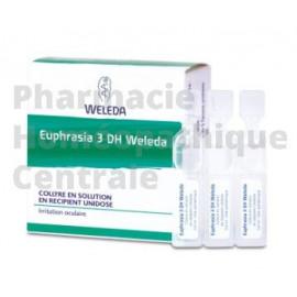 Euphrasia D3 collyre, 10 unidoses - Homéopathie Weleda Irritations oculaires