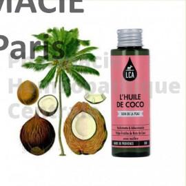Cette huile végétale bio est utilisée pour ses propriétés anti-infectieuses (antifongique, antiviral et antibactérien).