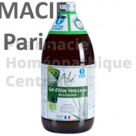 Gel d'Aloe Vera à boire, pur ou mélangé à du jus de fruit, est un puissant régénérant