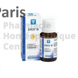 ERGY D est un complément alimentaire apportant de la vitamine D3, utile pour les enfants en période de croissance