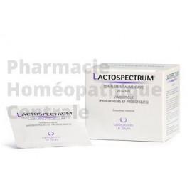 LACTOSPECTRUM®  est un complément alimentaire qui apporte des prébiotiques et des probiotiques.