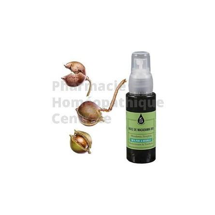 MACADAMIA - HUILE VEGETALE BIO  - Cicatrisant, nourrissant et tonique circulatoire.