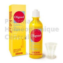 Oligosol cuivre or argent  maladies infectieuses, d'états asthéniques (fatigue), d'états grippaux.