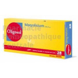 Oligo-élément Magnésium  états de fatigue (irritabilité, insomnies, dépressions), de manifestations de spasmophilie