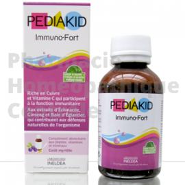 Pediakid Immuno fort, actifs naturels pour renforcer les défenses immunitaires.