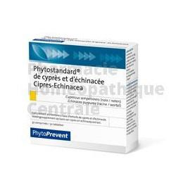Phytostandard® - Cyprès / Echinacée contribue à renforcer les défenses naturelles.