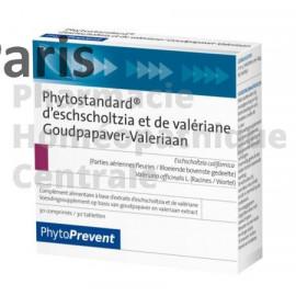 Phytostandard® - Eschscholtzia / Valériane favorise le sommeil et la détente.