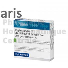 Phytostandard® Artichaut / Radis Noir Pileje favorise la digestion et la détoxication.