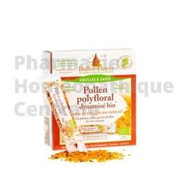 Pollen Polyfloral dynamisé bio en pelotes - Ballot Flurin - Pharmacie Homéopathique Générale