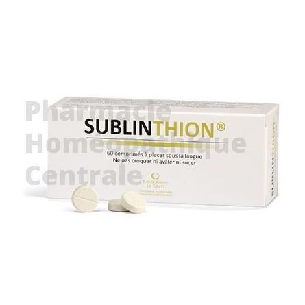 Sublinthion - glutathion des laboratoires le stum
