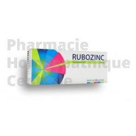 RUBOZINC 15 mg Peau - acné inflammatoire - Boîte de 60 gélules