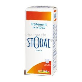 STODAL - Toux - Sirop, conseillé pour le traitement de la toux mixte.