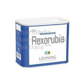 Rexorubia est utilisé dans les troubles de la croissance, la minéralisation et au cours de l'allaitement