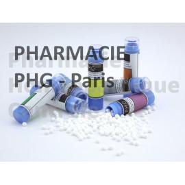 Sulfur iodatum  en cas de rhino-pharyngite, d'acné et pour les rhumatismes
