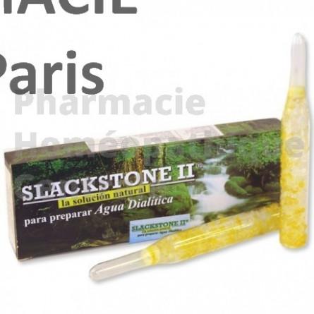 SLACKSTONE nettoie l'organisme de ses déchets cristallisés et calcifiés : calculs rénaux et biliaires, acide urique