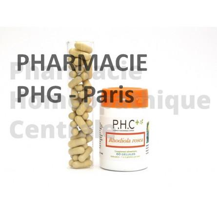 Rhodiola PHG Utile en cas de stress passager, tension nerveuse, angoisse, fatigue intellectuelle
