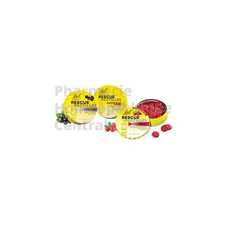 Fleurs de Bach Rescue® Pastilles - cranberry - orange sureau - citron Apportent réconfort et sérénité dans les moments de stress