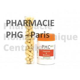 La formuleVitamineset Minéraux PHG contribue à un apport suffisant de vitamines et de minéraux