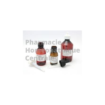Busserole ou uva ursi en teinture mère est connu pour son effet antiseptique urinaire et elle favorise l'élimination de l'acide