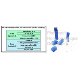 Kit homéopathique d'accompagnement à la vaccination (Pfizer, Moderna)