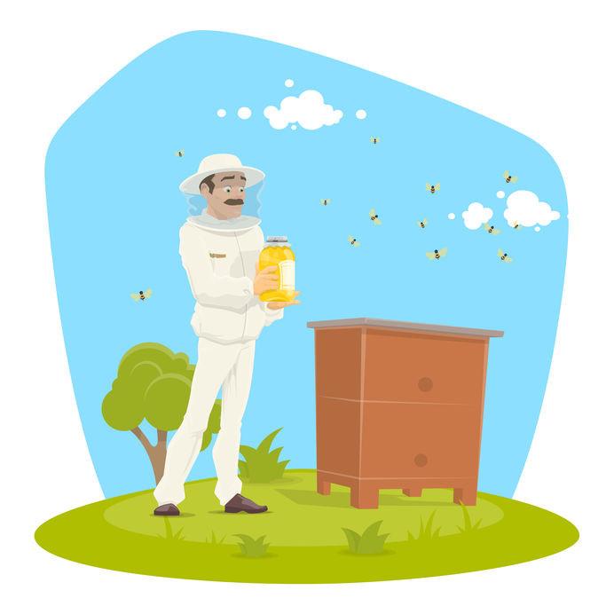 Produits de la ruche bio
